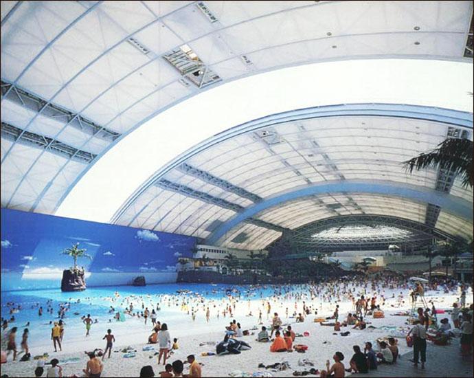 شاهد بالصور الشواطئ الصناعيه في اليابان