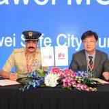 شرطة دبي وشركة هواوي