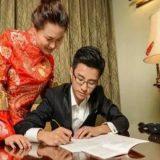 عروسان صينيان