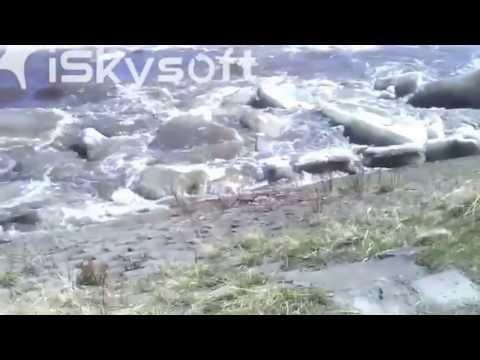 نهر في ألاسكا