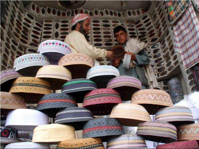 بيع القبعات