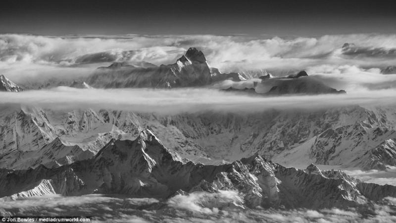 جبل Khunyang Chhish في كاراكورام، باكستان.