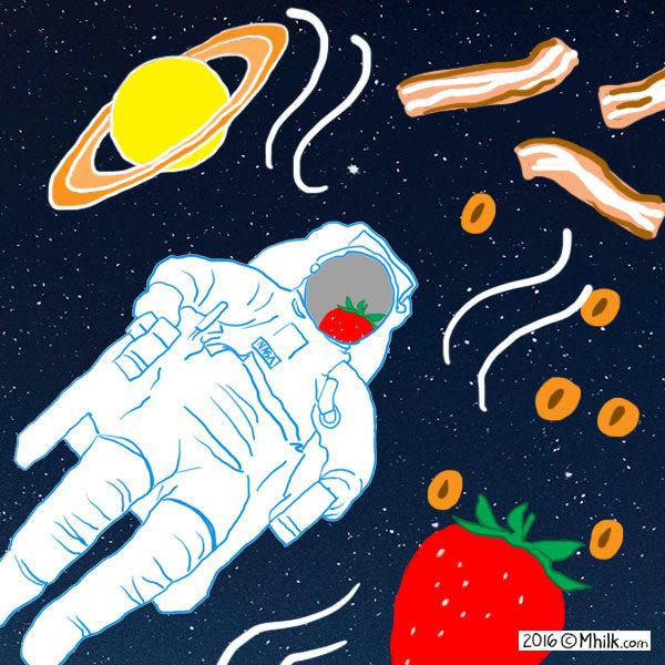 رائحة الفضاء