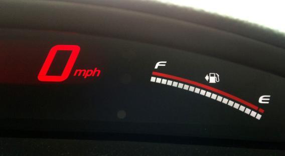 لوحة عدادات السيارة