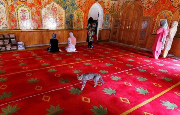 مسجد في سريناجار