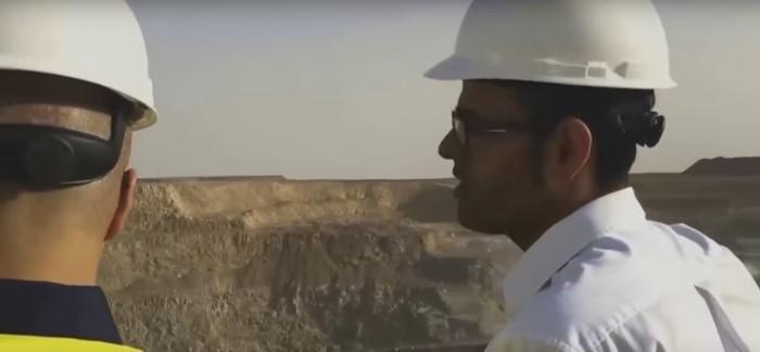 منجم مفتوح للذهب بالسعودية