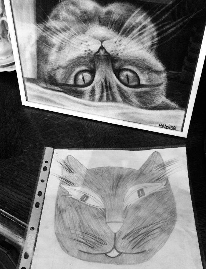 تطور الرسم
