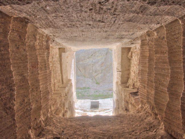 غرفة سرية في جبل راشمور