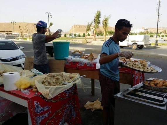 الطعام الشعبي في رمضان