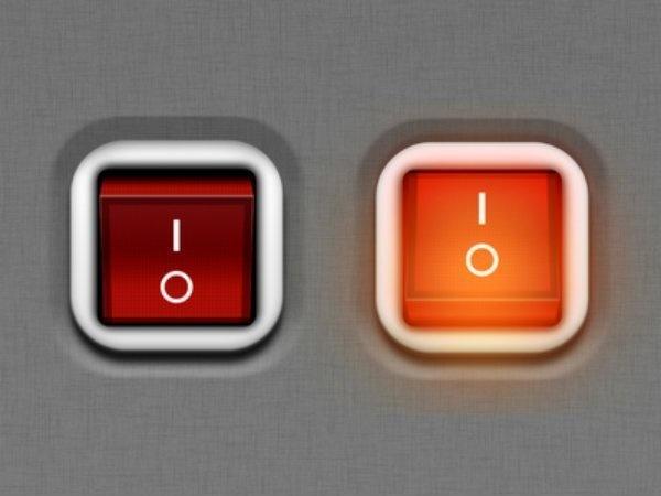 زر الطاقة في الأجهزة