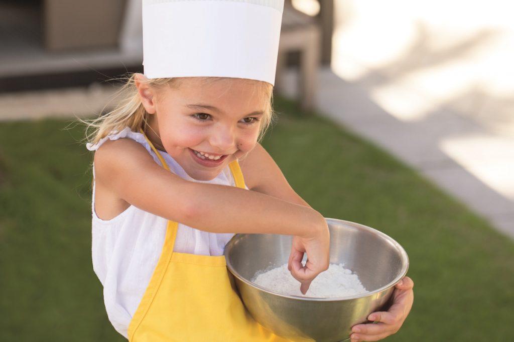 طبخ الأطفال