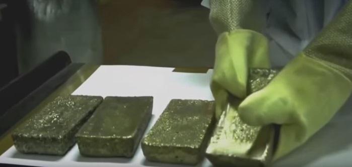 Mine in Saudi Arabia