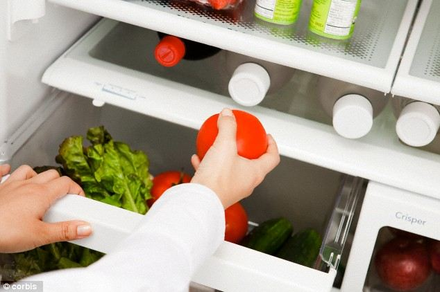 Refrigrate tomatoes
