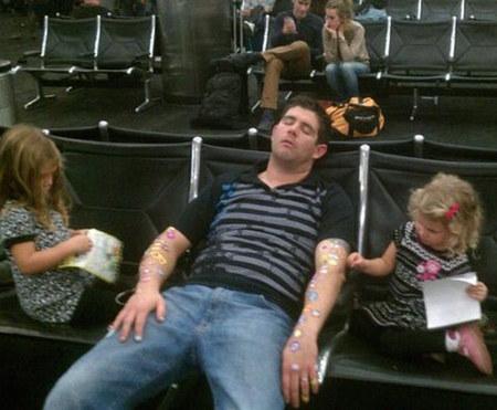 الأطفال في السفر