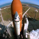 لحظة إنطلاق صاروخ