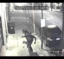 شخص يحاول سرقة