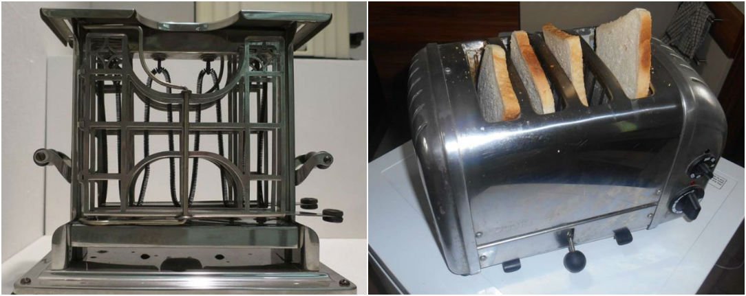toaster then and now