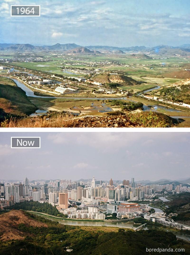 تغير المدن الشهيرة