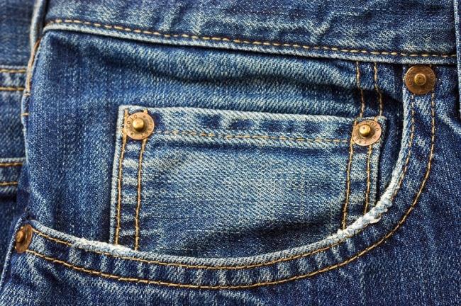 جيب السروال الجينز