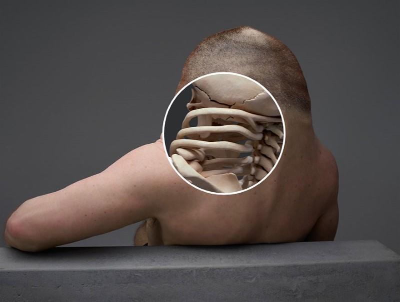شكل إنسان غريب