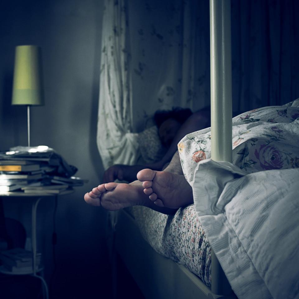 بهزة مفاجئة أثناء النوم