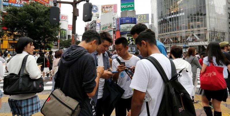 Pokémon GO in Japan