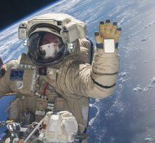 البث المباشر من الفضاء