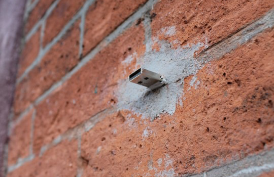 Usb in wall