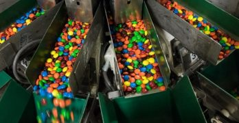 how M&M's are made