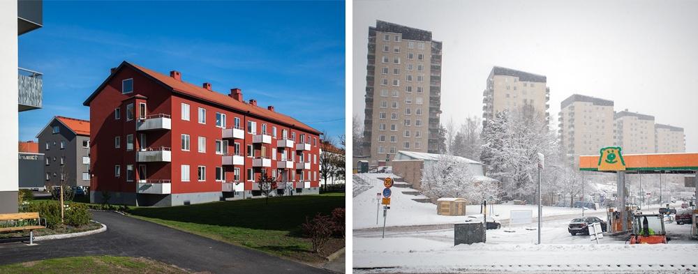 منازل في السويد