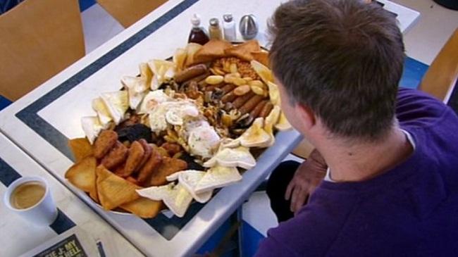 تحدي طعام