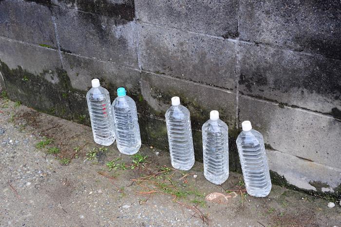 زجاجات المياه