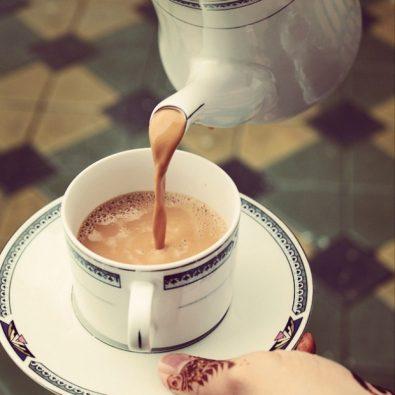 الشاي القطري