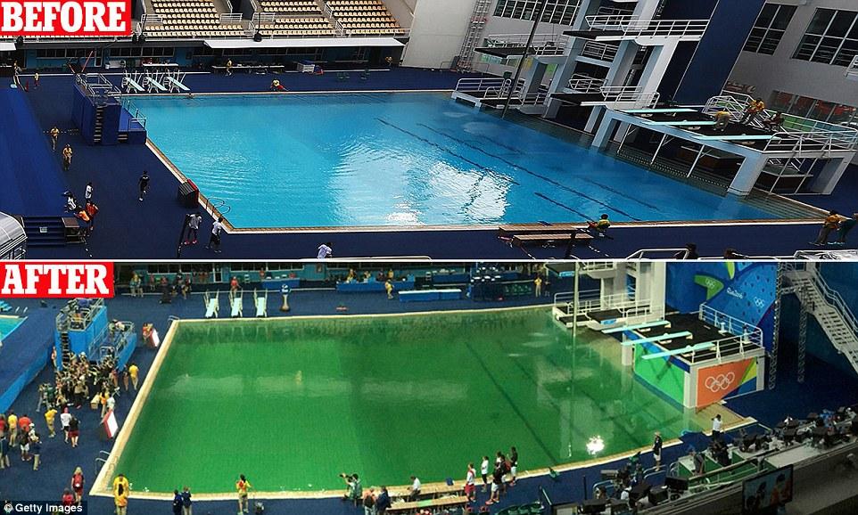أحداث غريبة في الألعاب الأولمبية