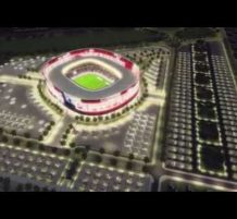 قطر تكشف عن تصميم استاد ( البيت ) لستعدادها لكأس العالم 2022