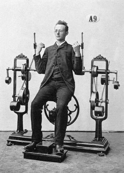 أغرب الآلات الرياضية القديمة