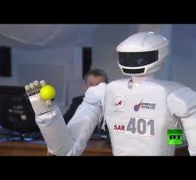 روبوت روسي للعمل في الفضاء