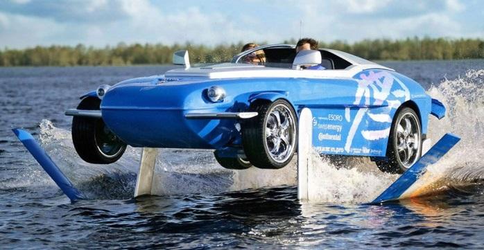 Top amphibious vehicles