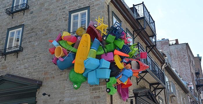 Trash Sculptures