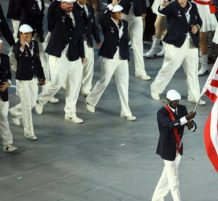 إخفاض العلم في الأولمبياد