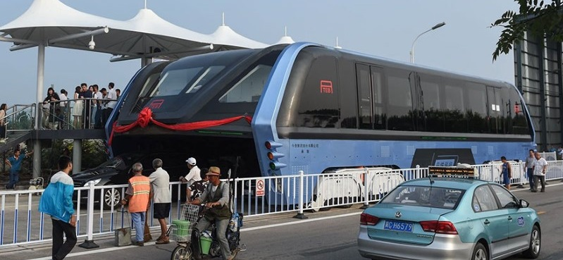 bus in China