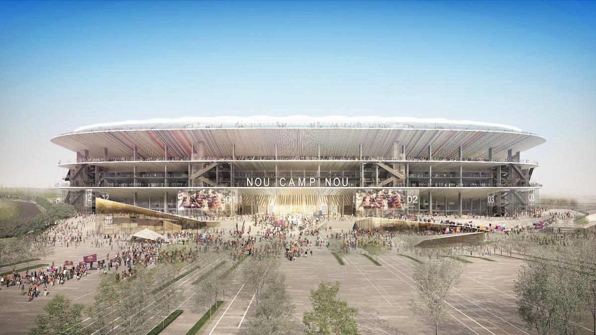 ملعب برشلونة الجديد
