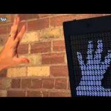 تحويل حركات اليد إلى صور تفاعلية