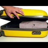ترتيب حقيبة السفر بسرعة