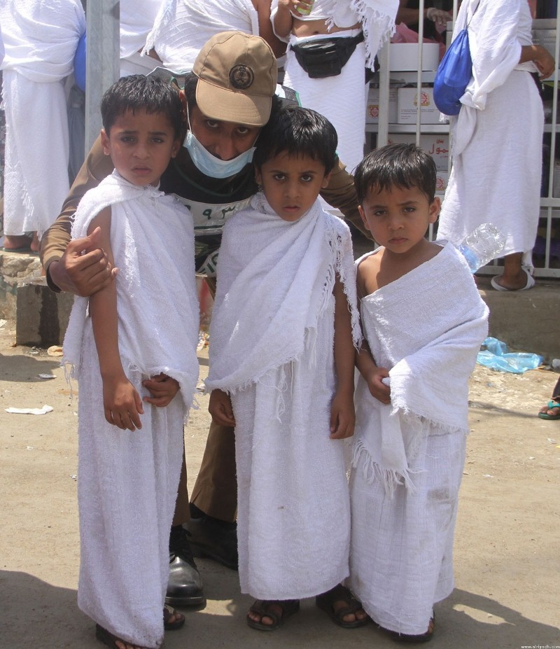 أطفال في الحج