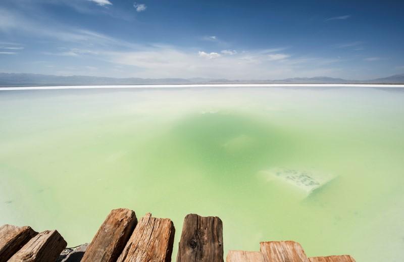 بحيرة شاكا الملحية