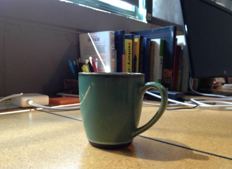 لا تترك فنجان القهوة