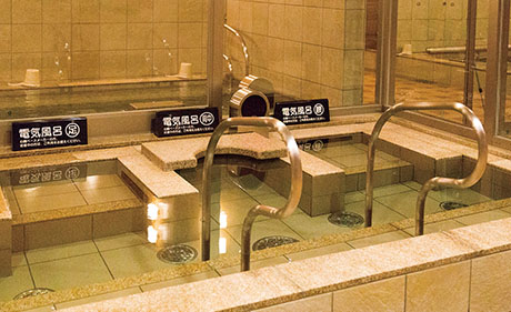 الحمامات الكهربائية في اليابان