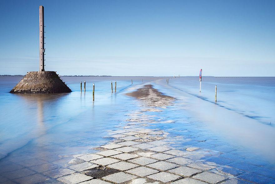 طريق الماء في فرنسا