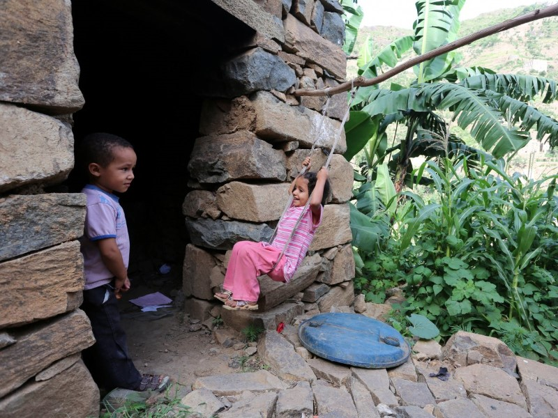 القرى الجبلية في اليمن